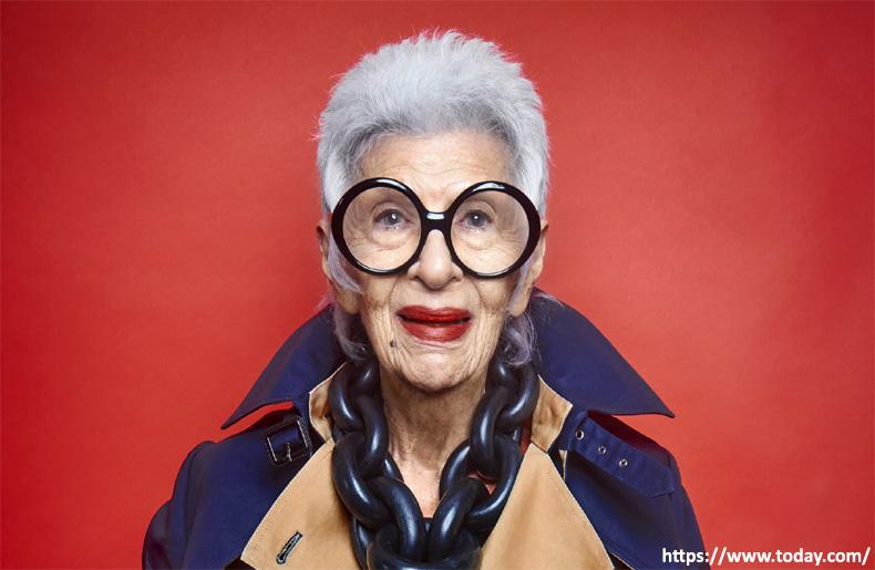 Iris Apfel oldest-celebrities