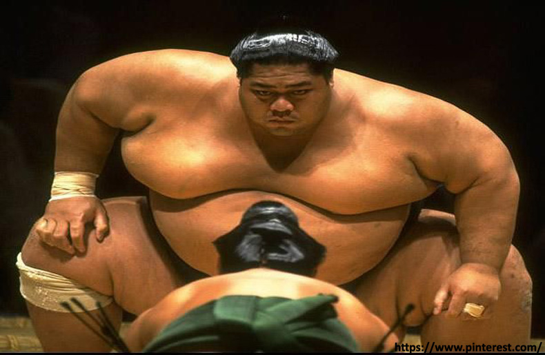 Konishiki Yasokichi - massive athletes