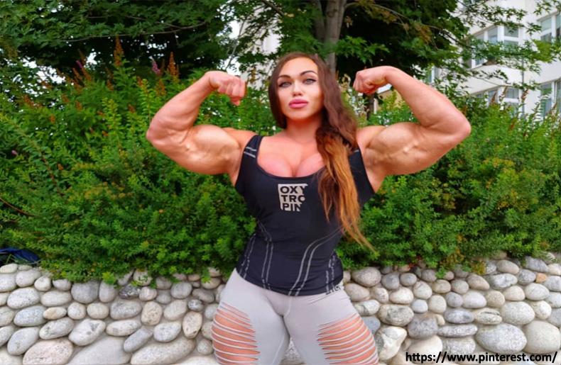 Nataliya Kuznetsova - massive athletes