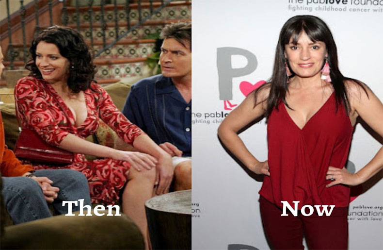 Paget Brewster - women of two and a half men